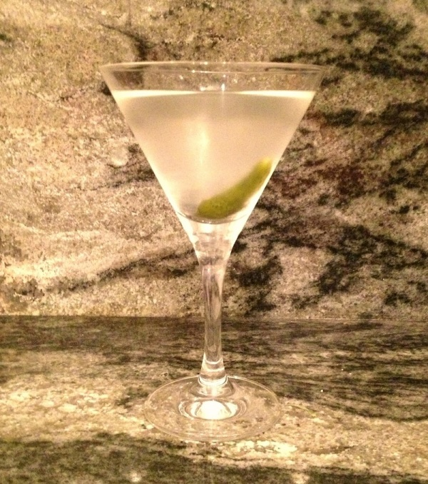 Dirty Pickle Martini by Judith Pena